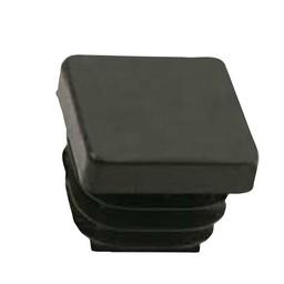 QlinQ QlinQ pootdop insteek vierkant zwart 25 mm 4 stuks