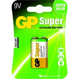gp GP Super 9V blok, blister 1