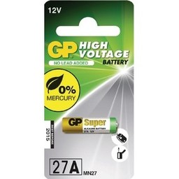 gp GP Hoog voltage alkaline rondcel 27A (MN27), blister 1