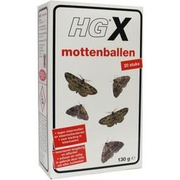 HG X mottenballen