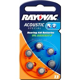 Rayovac Acoustic Special V13 Bls 6