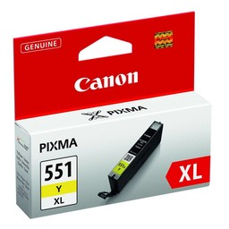 Canon CANON CLI-551Y XL INKT YELLOW