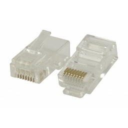 Valueline RJ45 connector voor solid UTP CAT 6 kabels