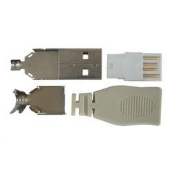 <br />  USB-A MALE CONNECTOR SOLDEERUITVOERING
