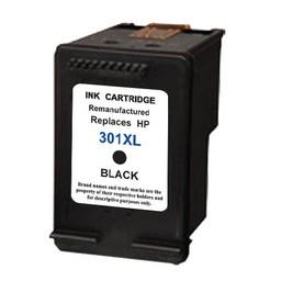Huismerk Inkt cartridge voor Hp 301Xl zwart met niveau-indicator