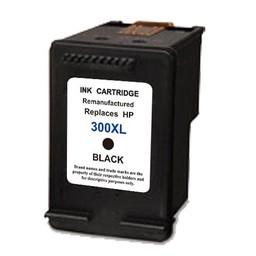 Huismerk Inkt cartridge voor Hp 300Xl zwart met niveau-indicator