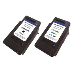 Huismerk Set cartridges voor Canon PG540XL & Cl541XL met niveau-indicator
