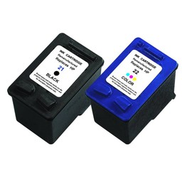 Huismerk Set cartridges voor Hp 21Xl/22Xl
