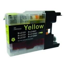 Huismerk Inkt cartridge voor Brother LC 1220 1240 1280 geel