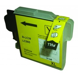 Huismerk Inkt cartridge voor Brother LC 980 985 1100 geel