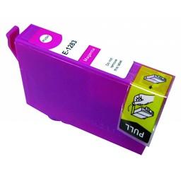Huismerk Inkt cartridge voor Epson T1283 magenta