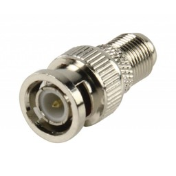 Valueline BNC plug - contra adapter hoge kwaliteit