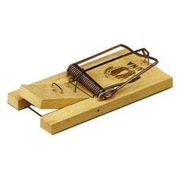 Hendrik Jan Hendrik Jan muizenval hout 10 cm 2 stuks