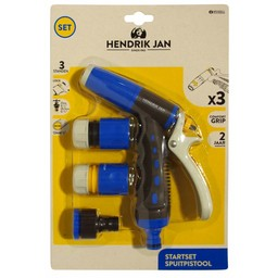 Hendrik Jan Hendrik Jan startset spuitpistool 3-delig