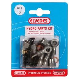 Elvedes Elvedes hydro onderdelen set 3