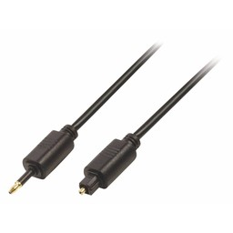 Valueline Digitale Audiokabel TosLink Male - Optisch 3.5 mm Male  Zwart