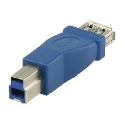 Valueline USB 3.0 Adapter B Male - A Female Blauw
