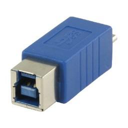 Valueline USB 3.0 Adapter Micro-B Male - B Female Blauw