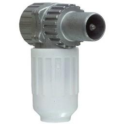 Hirschmann Coax Connector 7.0 mm Male PVC Wit Koswi