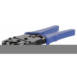 Valueline Krimptang voor RJ45 - RJ11 - RJ10 blauw