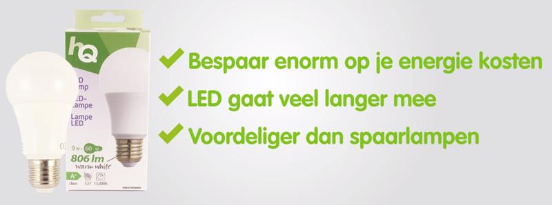 Waarom LED lampen de beste lampen zijn