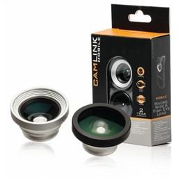 Nedis Opzetlens voor smartphone-camera   3-in-1   Macro / groothoek & fisheye   Clip-on