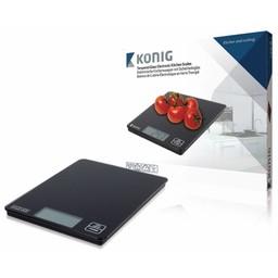 Nedis Digitale Keukenweegschaal | LCD | Glas | Zwart