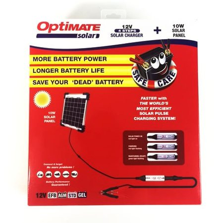 Tecmate Optimate Solar 10W zonnepaneel