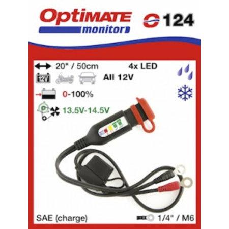 Tecmate Optimate accu monitor O124 - Eyelets - SAE