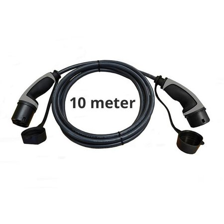 Ratio Basic Line Laadkabel type 2 - 3 fase 16A - 10 meter
