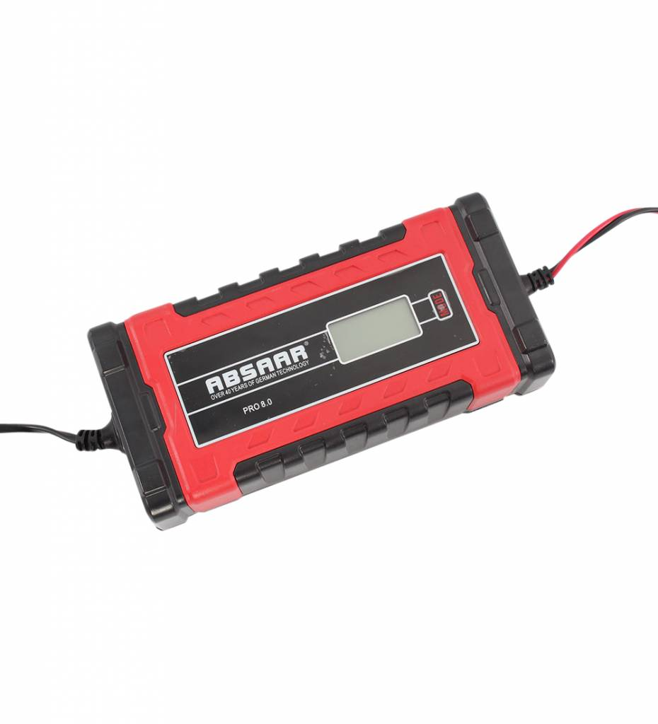 Absaar Smartlader PRO 8.0 8A 12-24V