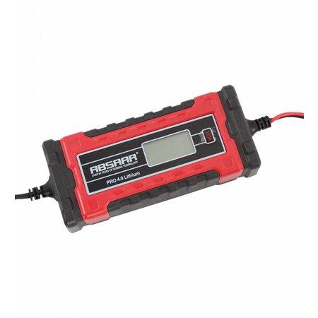 ABSAAR Smartlader PRO 4.0 Li 4A 6/12V