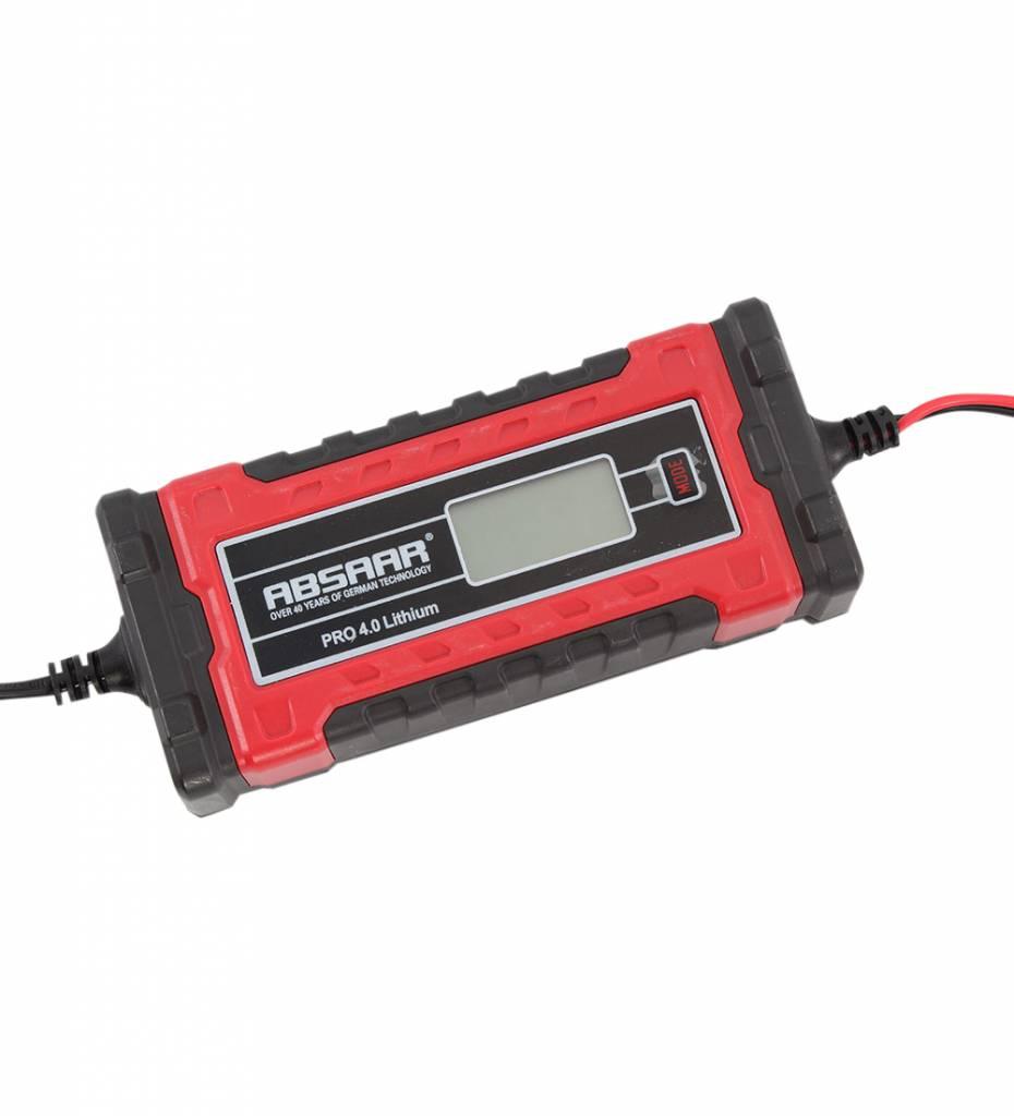 Absaar Smartlader PRO 4.0LI 4A 6-12V