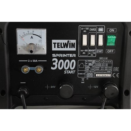 Telwin Acculader/Startbooster Sprinter 3000 Start 12-24V