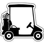 Acculader voor een golftrolley