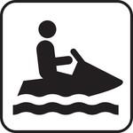 Acculader voor een waterscooter