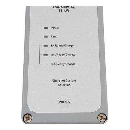 Ratio Mobiele lader type 2 naar CEE - 3 fase 16A - 5 meter