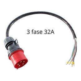 Ratio Voedingskabel voor laadstation met CEE stekker - 3 x 32A
