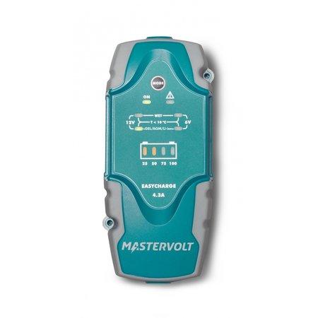 Mastervolt Easycharge Portable 4.3A acculader 6V/12V