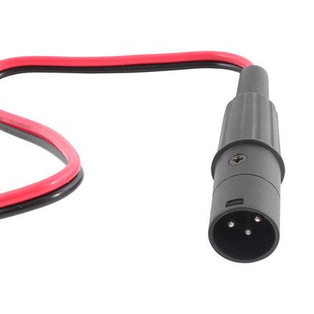 CTEK XLR Connector voor Scooter en Scootmobiel