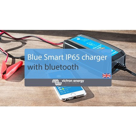 Victron Blue Smart IP65 Acculader 12/10