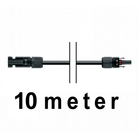 TopSolar kabel 6mm² 10m MC4 male/female