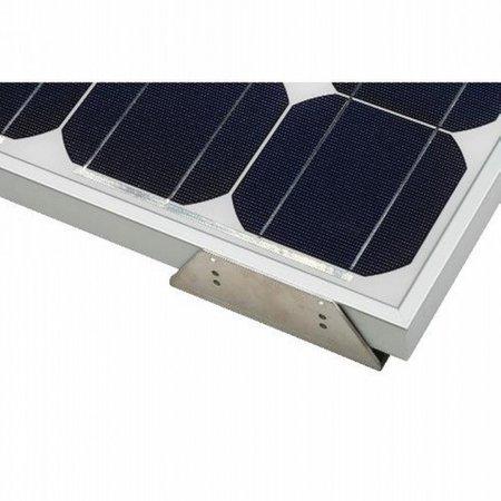Solara Solar zonnepaneel montage hoeken aluminium (set van 4 stuks)
