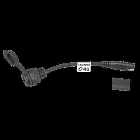 Tecmate Optimate O40S SAE dashboard/ schutbord/ paneel aansluiting