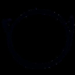Victron VE.Direct kabel 3m (één zijde 90°)