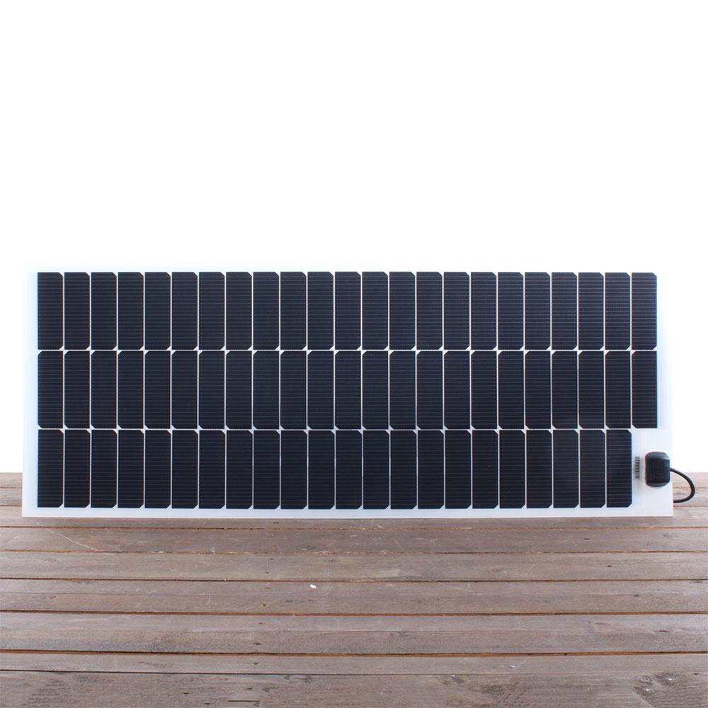 Semi flexibel zonnepaneel 110Wp JB