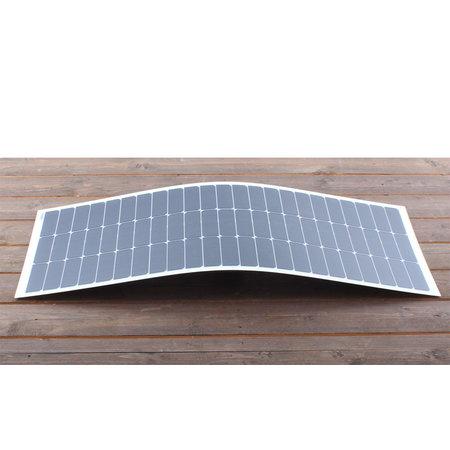 Semi flexibel zonnepaneel 110Wp flush (1310x510x4mm)