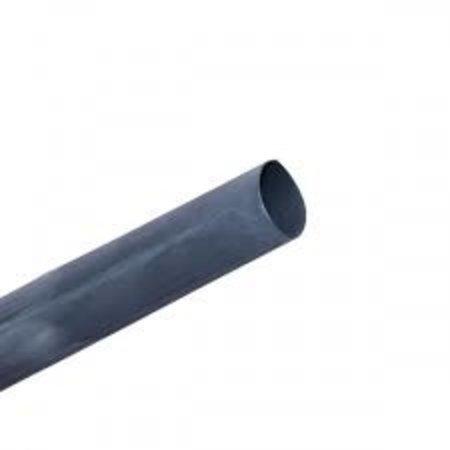 Krimpkous zwart voor 10mm² accukabel (per 50cm)