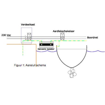 Victron Galvanische Diode Isolator VDI-16