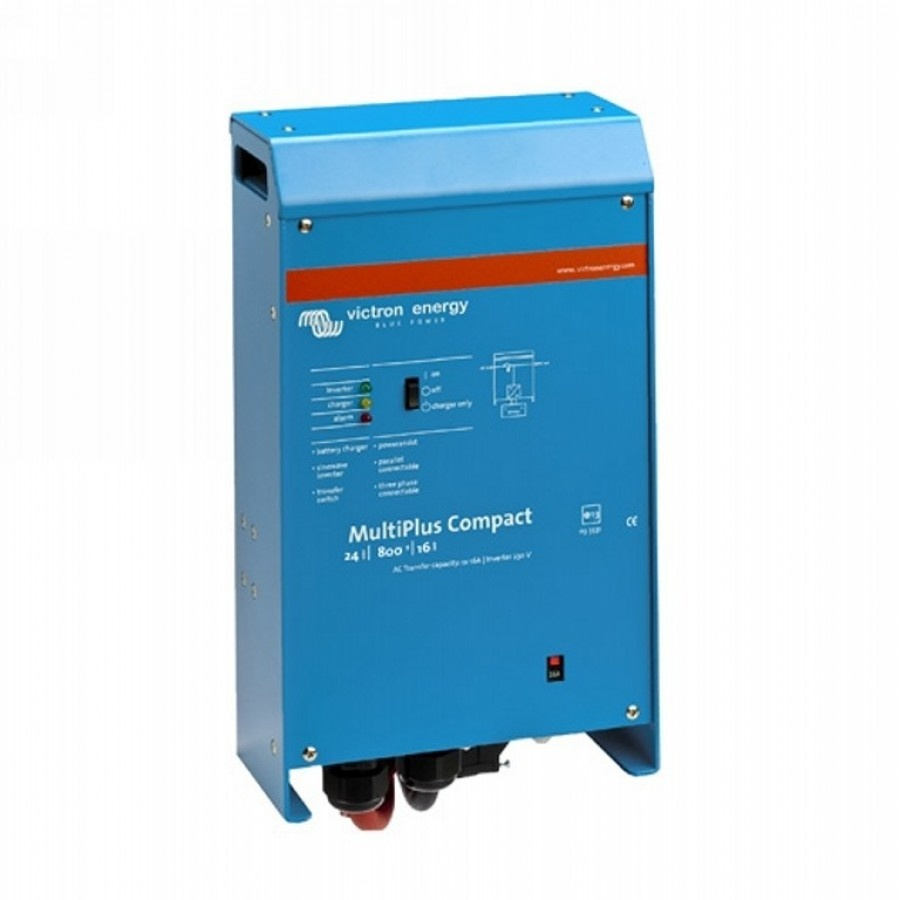 Victron Energy MultiPlus C 24-800-16-16 Netomvormer 800 W 24 V-DC Kabel